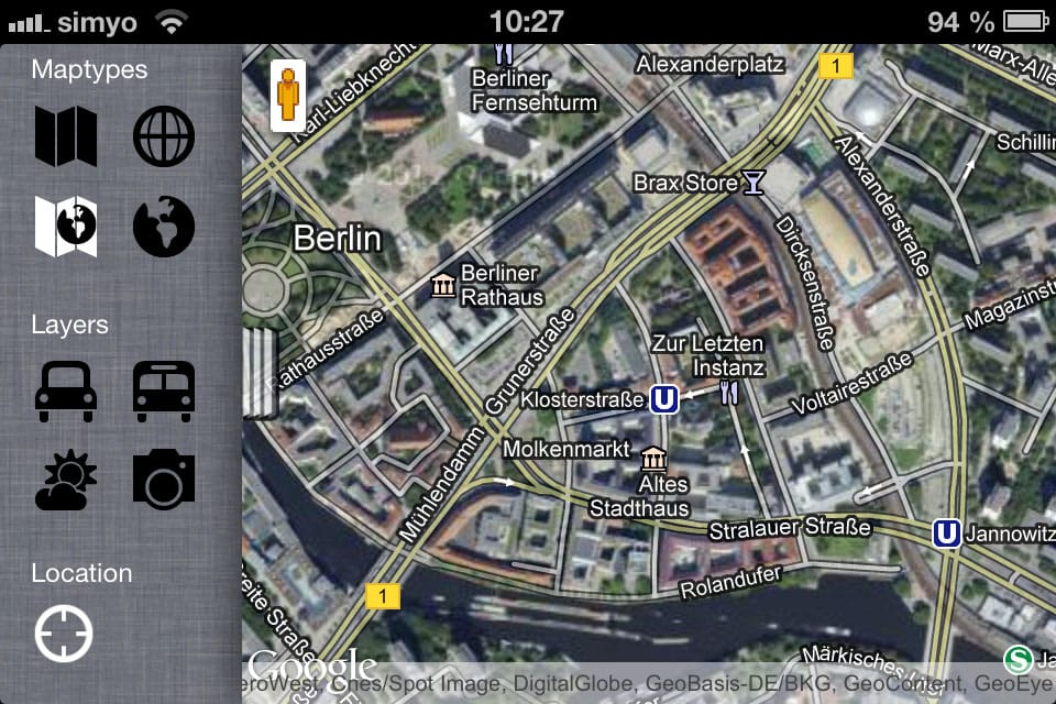 gMaps Browser