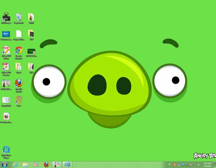 Angry Birds Theme para Windows 7