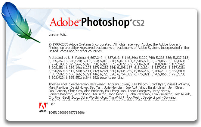 Parche para Adobe Photoshop CS2