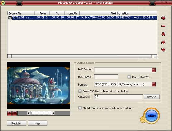 Plato DVD Creator