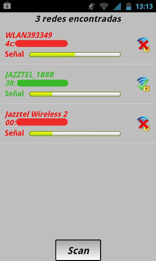 Wifi Claves