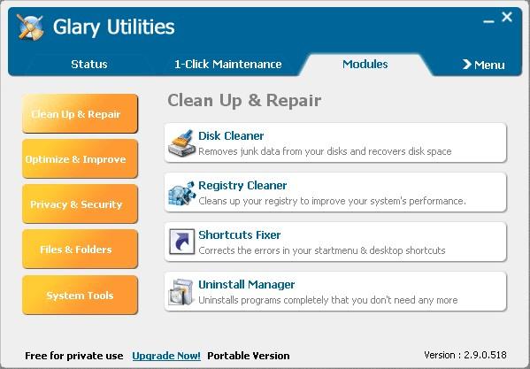Glary Utilities Portable