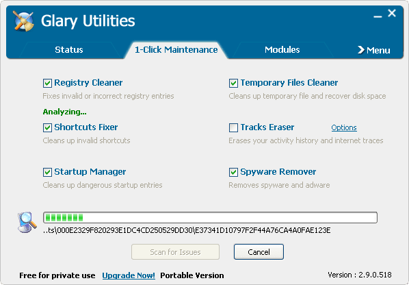 Glary Utilities Portable