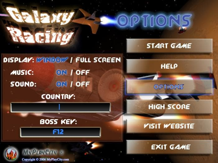 Galaxy Racing