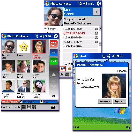 Photo Contacts Pocket PC Edition