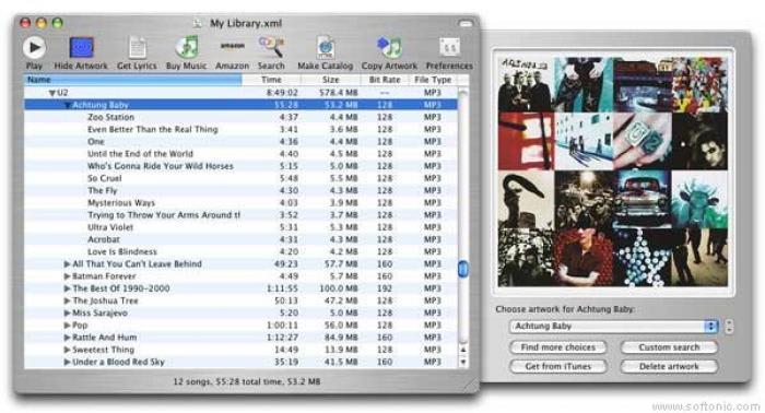 iTunes Catalog