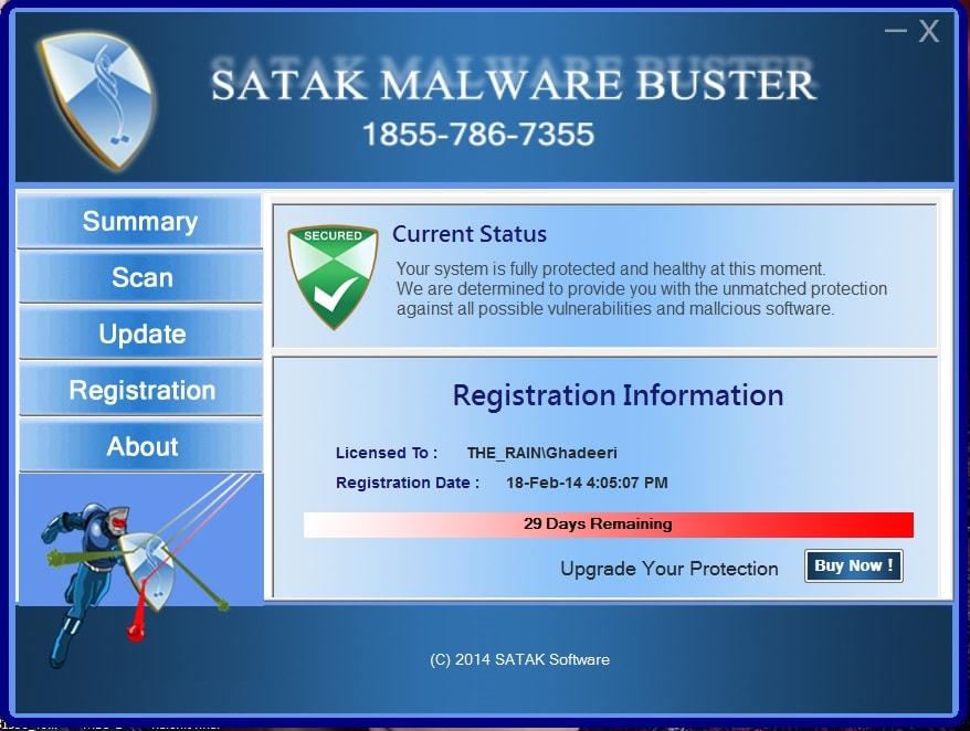 Satak Malware Buster