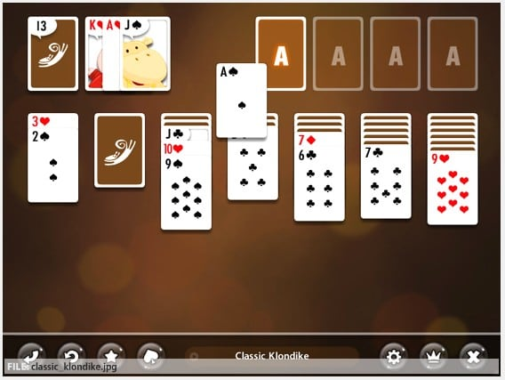 Kitty Spangles Solitaire