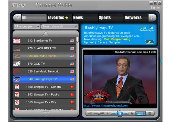 TVUPlayer Green