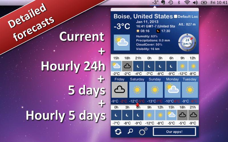 Weather 5 days