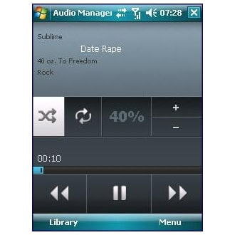 HTC audio manager