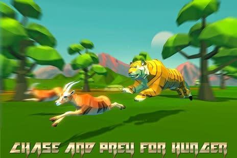 Tiger Simulator Fantasy Jungle