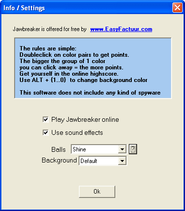 EasyFactuur Jawbreaker