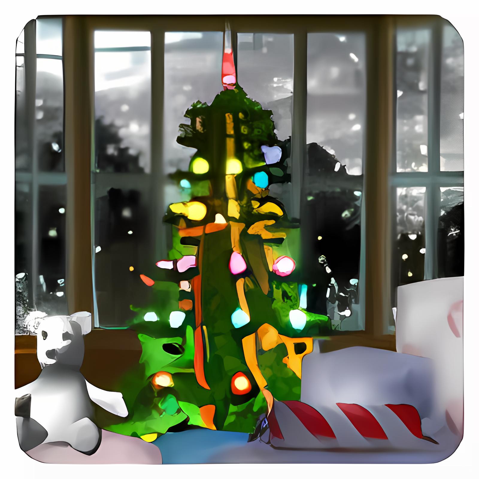 3D Merry Christmas Screensaver