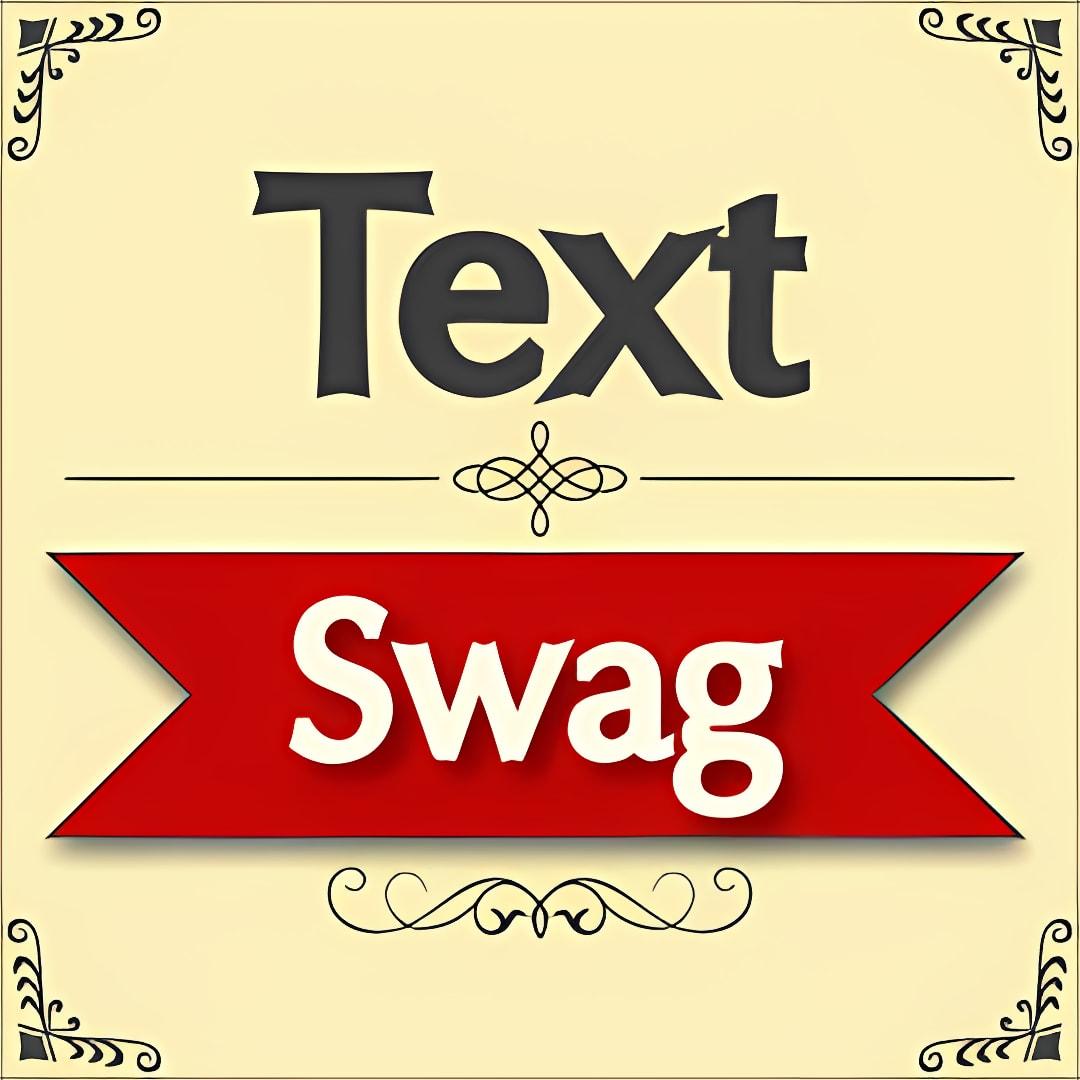 Text Swag - Font Studio