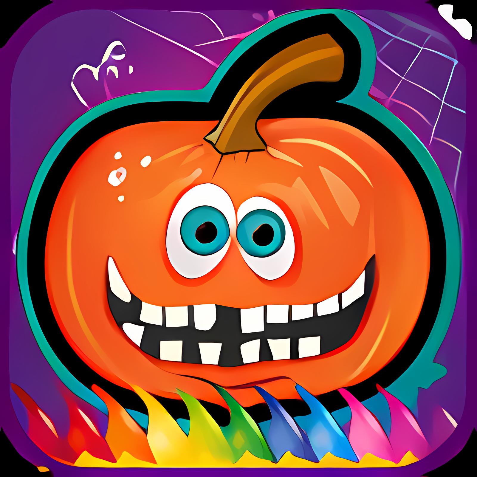 Halloween para colorear libro