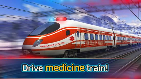 Train Drive: Medicine Game