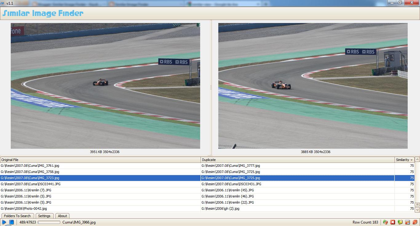 Similar Image Finder