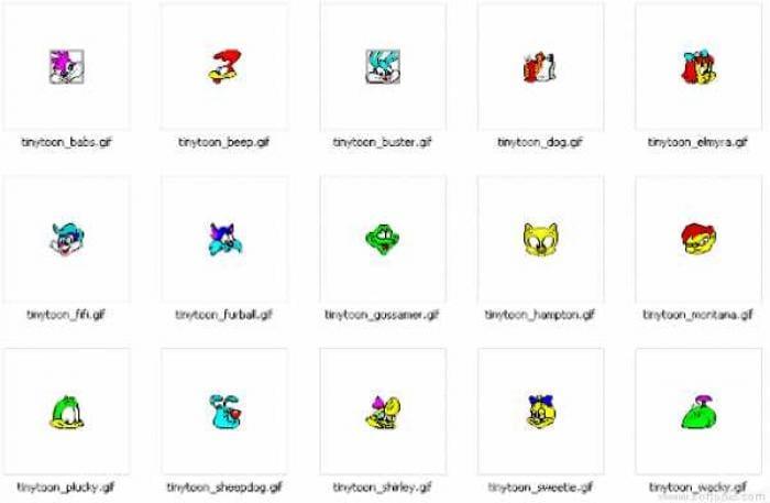 Tiny Toon Icons