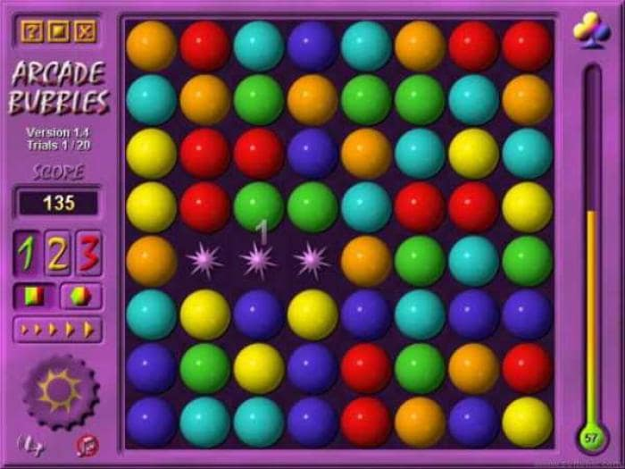 2M Arcade Bubbles