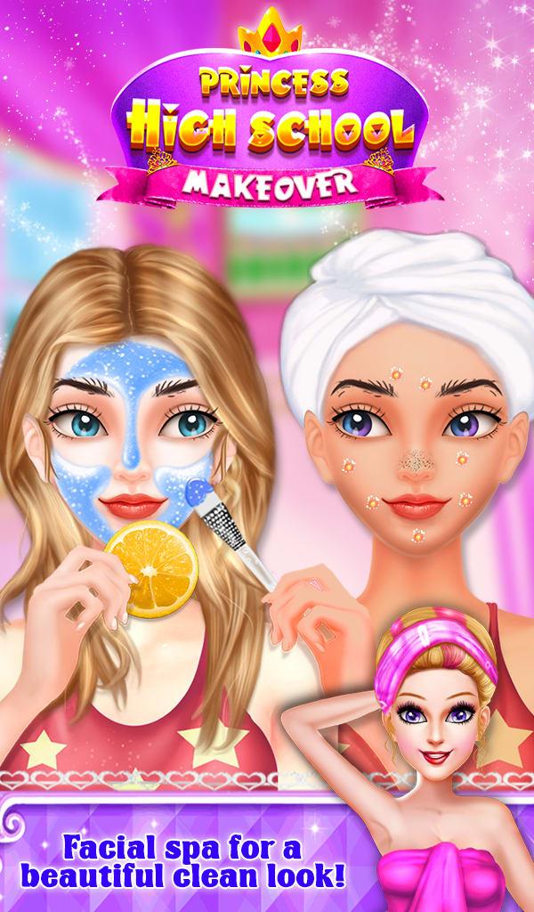Princess High School Makeover