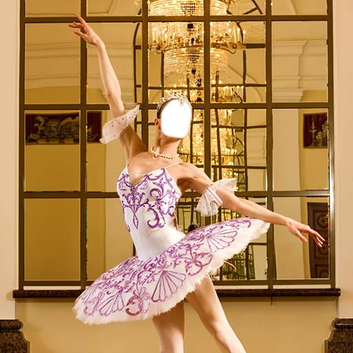 Ballerina Girls Photo Montage