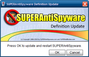 SUPERAntiSpyware Database Definitions 8054