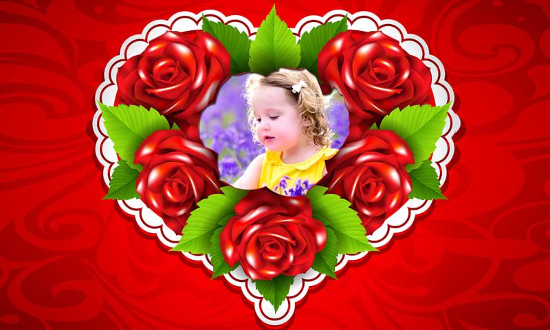 Flower Photo Frames