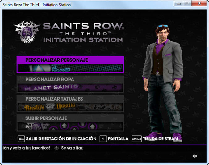 Saints Row: The Third Initiation Station