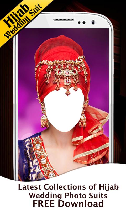Hijab Wedding Photo Suit New