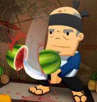 Fruit Ninja Theme