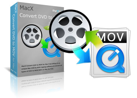 MacX Convert DVD to MOV for Mac Free