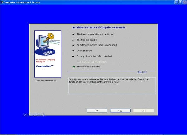 CompuSec PC Security Suite
