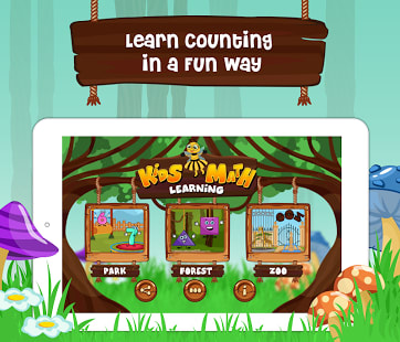 Kids Math - 123 Counting Game