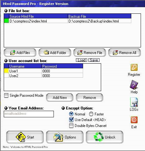 HTML Password Pro
