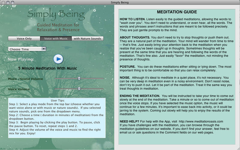 Simply Being - Meditation for Relaxation & Presence