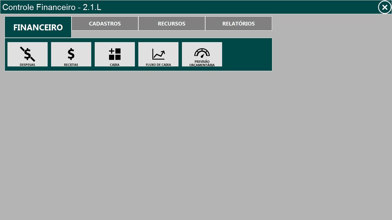 Controle Financeiro - Fluxo de caixa
