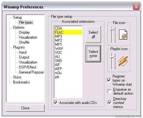 Flac Plugin for Winamp 2