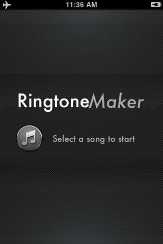 Ringtone Maker - Make free ringtones from your ...