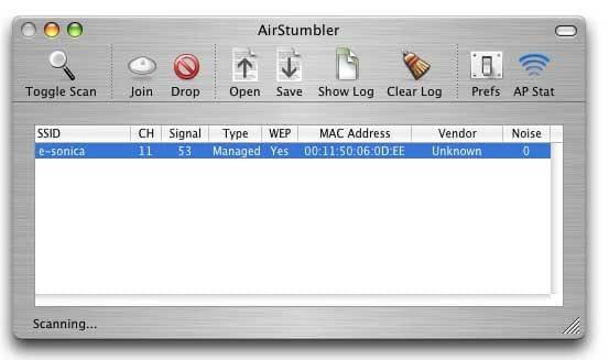 AirStumbler