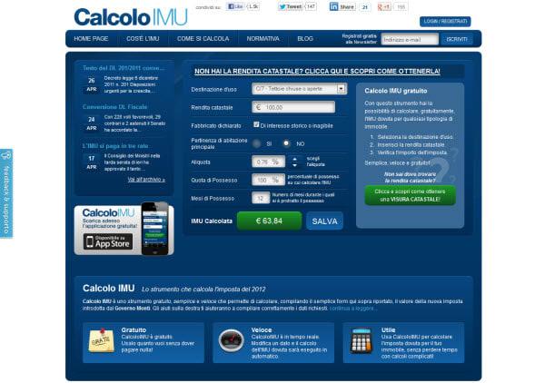 Calcolo IMU Online