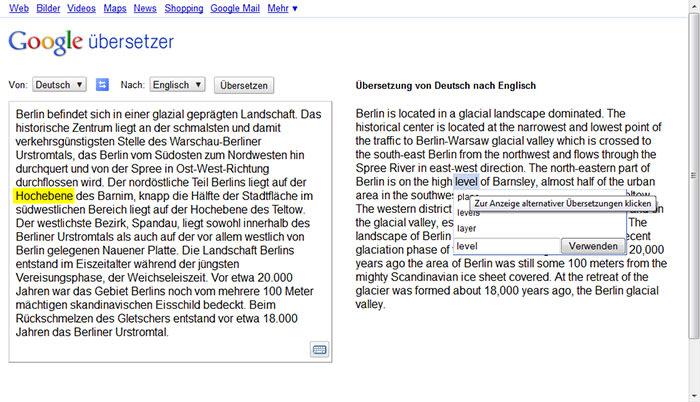 deutsch englisch übersetzer google übersetzer