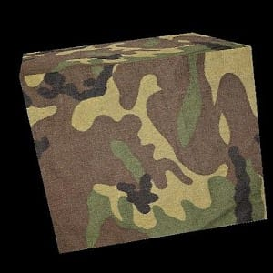 3D Camouflage Cube LWP
