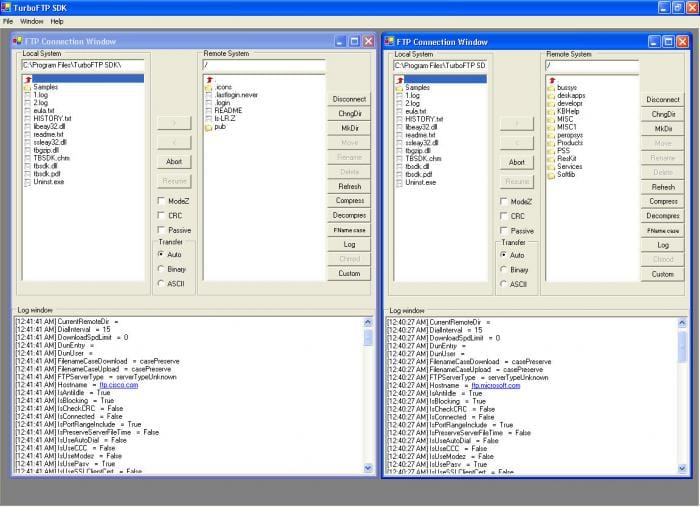 TurboFTP SDK