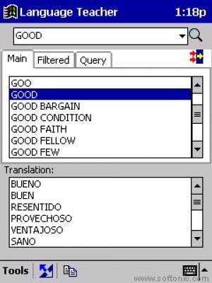 Pocket LT English-Spanish