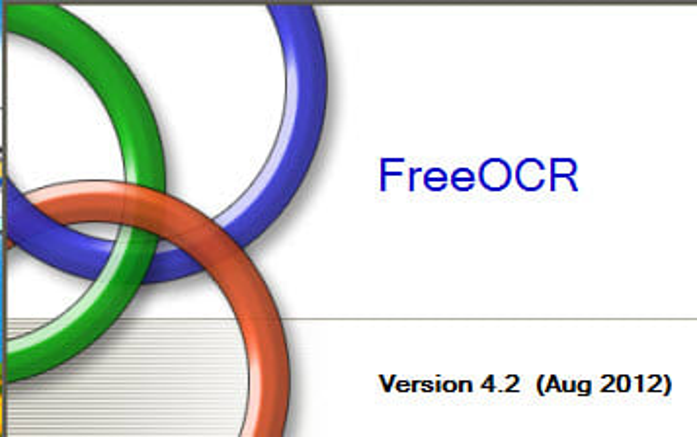 FreeOCR 4.2