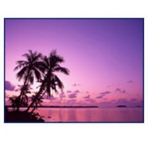 Purple Island Wallpaper