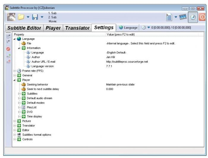Subtitle Processor