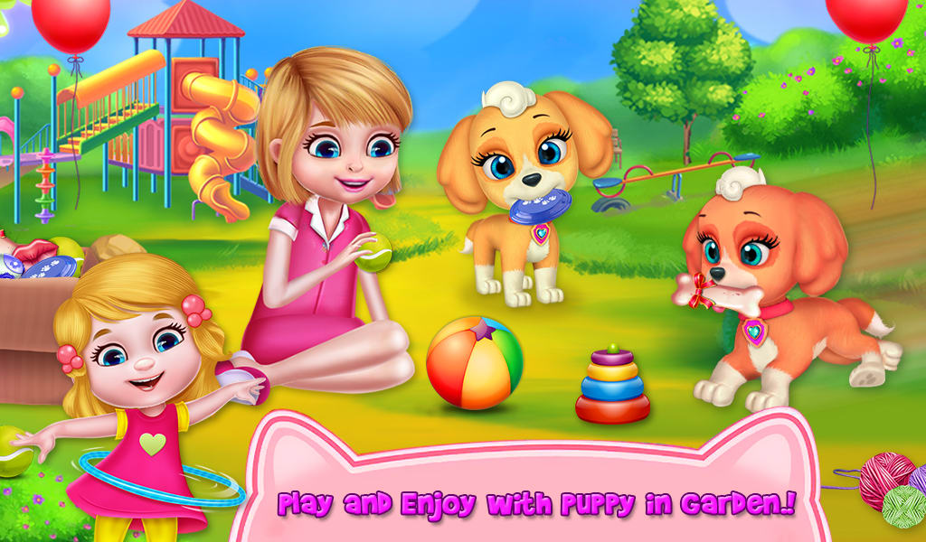 My Cute Little Pet Puppy Care