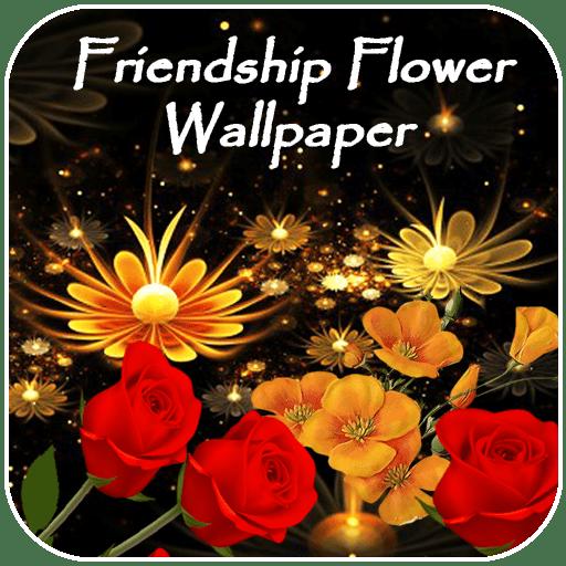 Friendship Flower Wallpaper